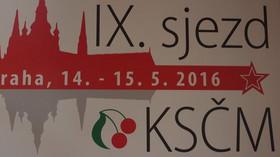 IX. sjezd KSČM v Praze