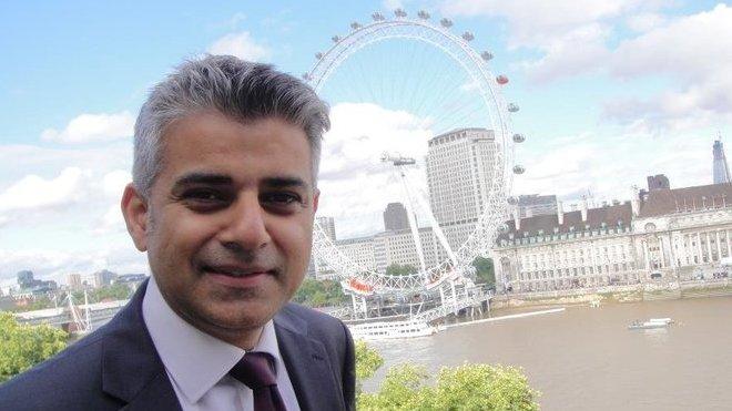 Londýnský starosta Sadiq Khan