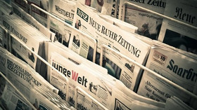 Noviny, ilutrační foto