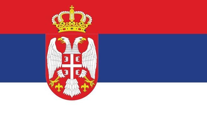Vlajka, Srbska