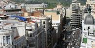 V Madridu se pod dělníky propadlo lešení, jeden mrtvý a 11 zraněných - anotační foto