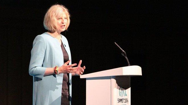 Theresa Mayová (autor: DFID)