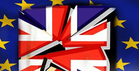 Europoslanci UKIP v parlamentu oslavovali spuštění brexitu - anotační obrázek