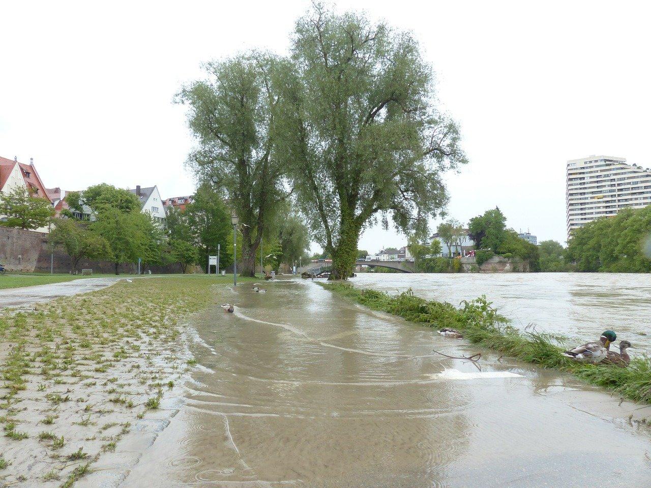 V pondělí mohou být na Moravě a na východě Čech záplavy - anotační foto