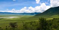 Ngorongoro kráter, Tanzánie autor: William Warby, CC BY 2.0