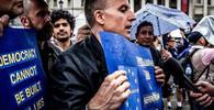 Odpor proti brexitu v Londýně: Tisíce lidí demonstrovaly - anotační obrázek