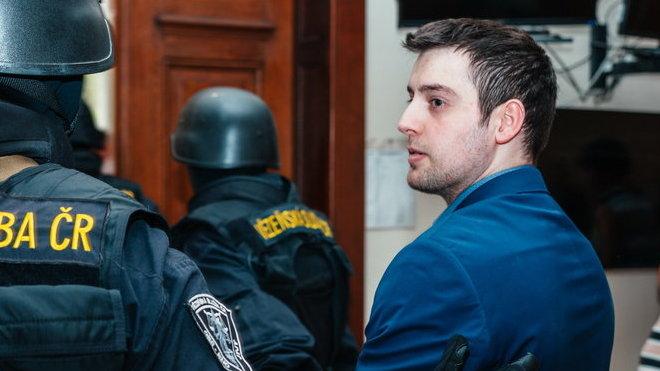 Kevin Dahlgren u soudu (19. 7. 2016)