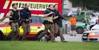 Útočník plánoval masakr v Mnichově rok. Zbraň sehnal na internetu - anotační obrázek
