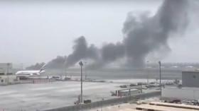 Při přistání v Dubaji havaroval boeing s 275 lidmi
