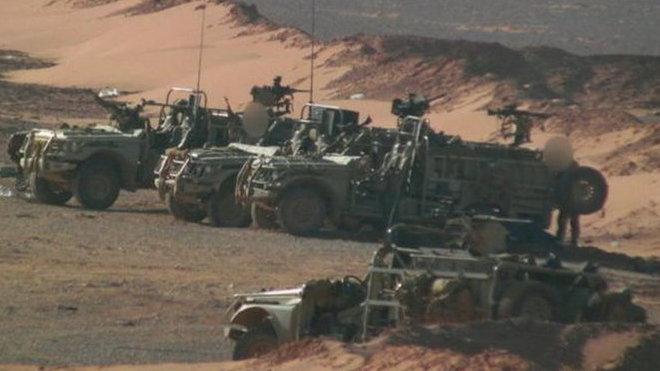 Britské speciální síly v Sýrii