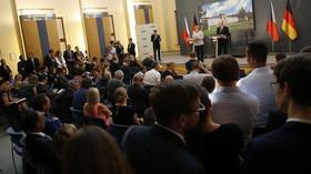 Německá kancléřka Angela Merkelová na návštěvě v Praze (25. srpna 2016)