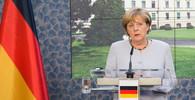 Do kolony s Merkelovou se v Praze pokusil najet neznámý muž - anotační obrázek
