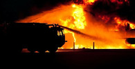 Turisté zažili peklo na ostrově Samos, požár a dým je uvěznil na plážích - anotační foto