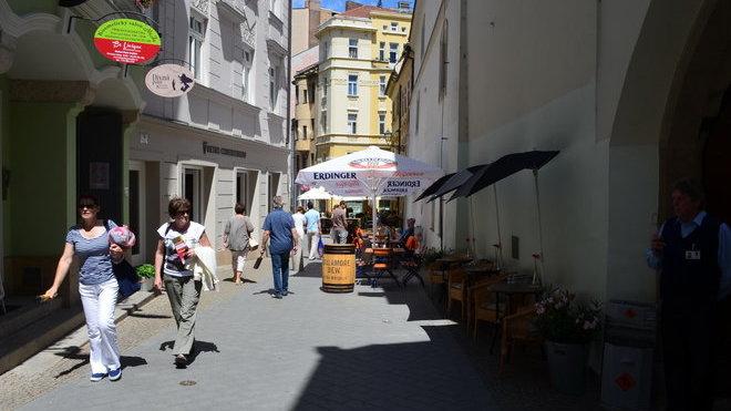 Brno, ulice Mečová