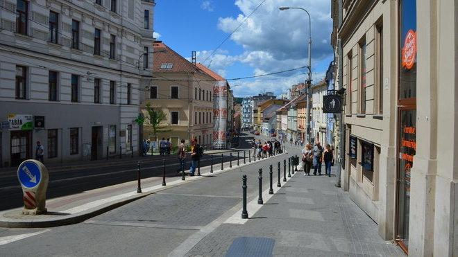 Brno, ulice Pekařská