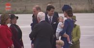 VIDEO: Trapas při přivítání? Britský princ George nepodal Trudeauovi ruku - anotační obrázek