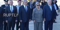 VIDEO: Izrael se loučí s Peresem, v USA jsou vlajky na půl žerdi - anotační obrázek