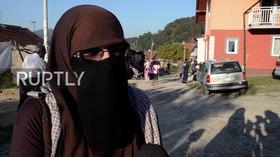 Do evropské politiky chce vstoupit muslimka zahalená v burce