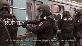Velké protiteroristické cvičení maďarských ozbrojených složek
