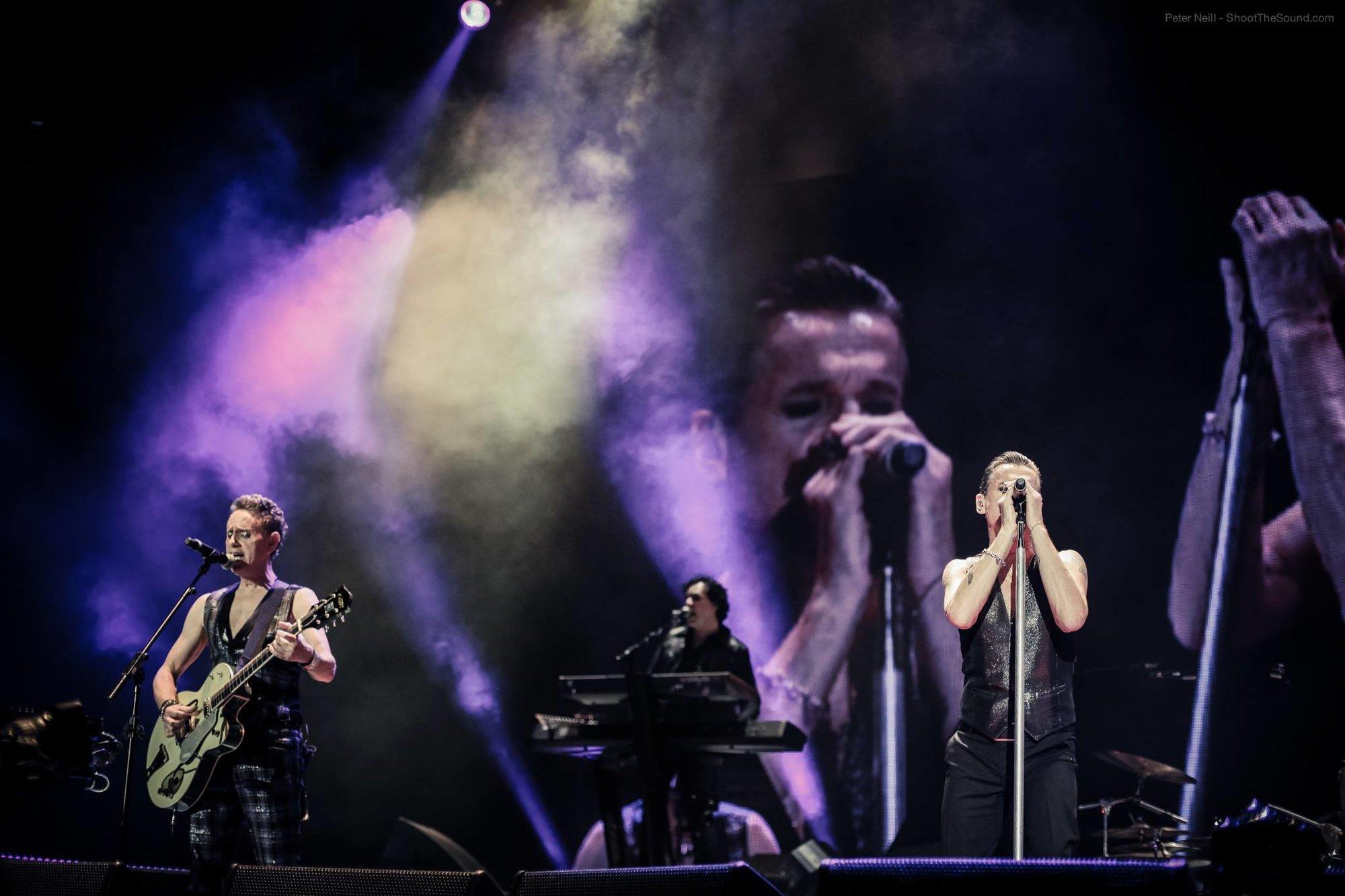 Depeche Mode (foto Peter Neill)