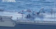 VIDEO: Ruské loďstvo v pohybu. Letadlová loď pluje do Středozemního moře - anotační obrázek