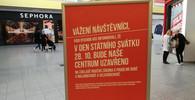 Albert 28. října otevřeny jen dvě prodejny, Alza nezavře - anotační obrázek