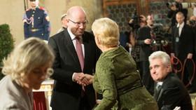 Udělování státních vyznamenání prezidentem Milošem Zemanem dne 28. října 2016