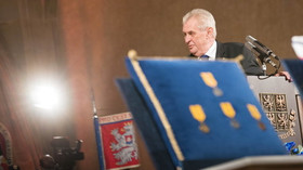 Udělování státních vyznamenání prezidentem Milošem Zemanem dne 28. října