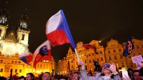 Češi se sešli na alternativní oslavě 28. října