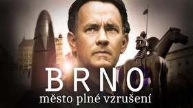 Tom Hanks řádí v Brně