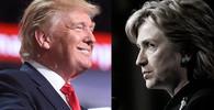 Donald Trump a Hollary Clintonová