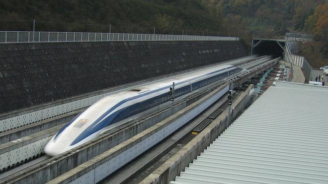 Japonský rychlovlak JR-Maglev (MLX01)