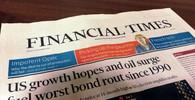 Financial Times v tištěné podobě.