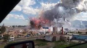 V Mexiku explodovala zábavní pyrotechnika