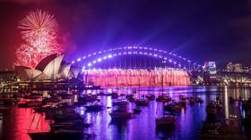 Novoroční ohňostroj v australské Sydney