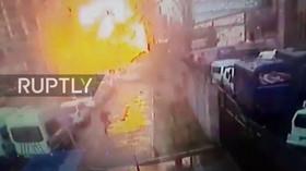 Výbuch u soudní budovy na západě Turecka