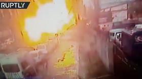 Kamera zachytila explozi v Turecku