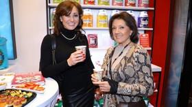 Kusmi Tea/Chodov: Marie Rottrová se snachou