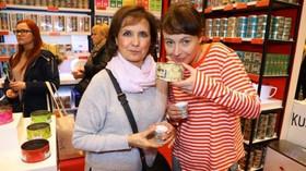 Kusmi Tea/Chodov: Veronika Freimanová a Lenka Vlasáková