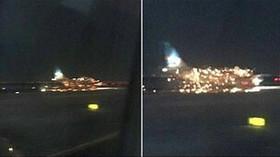 Výbuch letadla v New Yorku