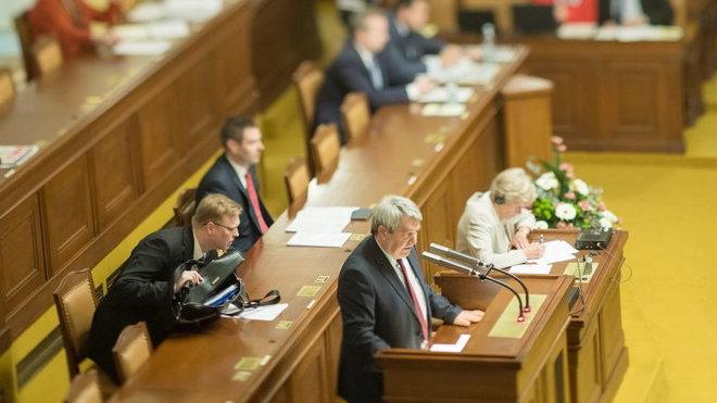 Vojtěch Filip v Poslanecké sněmovně