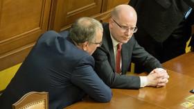 Bohuslav Sobotka v Poslanecké sněmovně