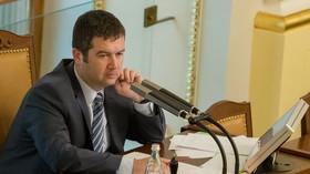 Jan Hamáček v Poslanecké sněmovně