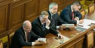 Bohuslav Sobotka, Pavel Bělobrádek, Martin Stropnický a Jiří Havlíček