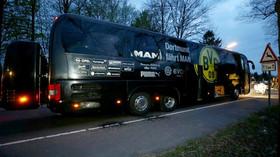 exploze zasáhly autobus Borussia Dortmund (11.4.2017)