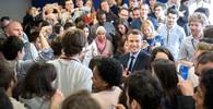 Proč uvádí Emmanuel Macron levicové voliče do rozpaků? - anotační obrázek