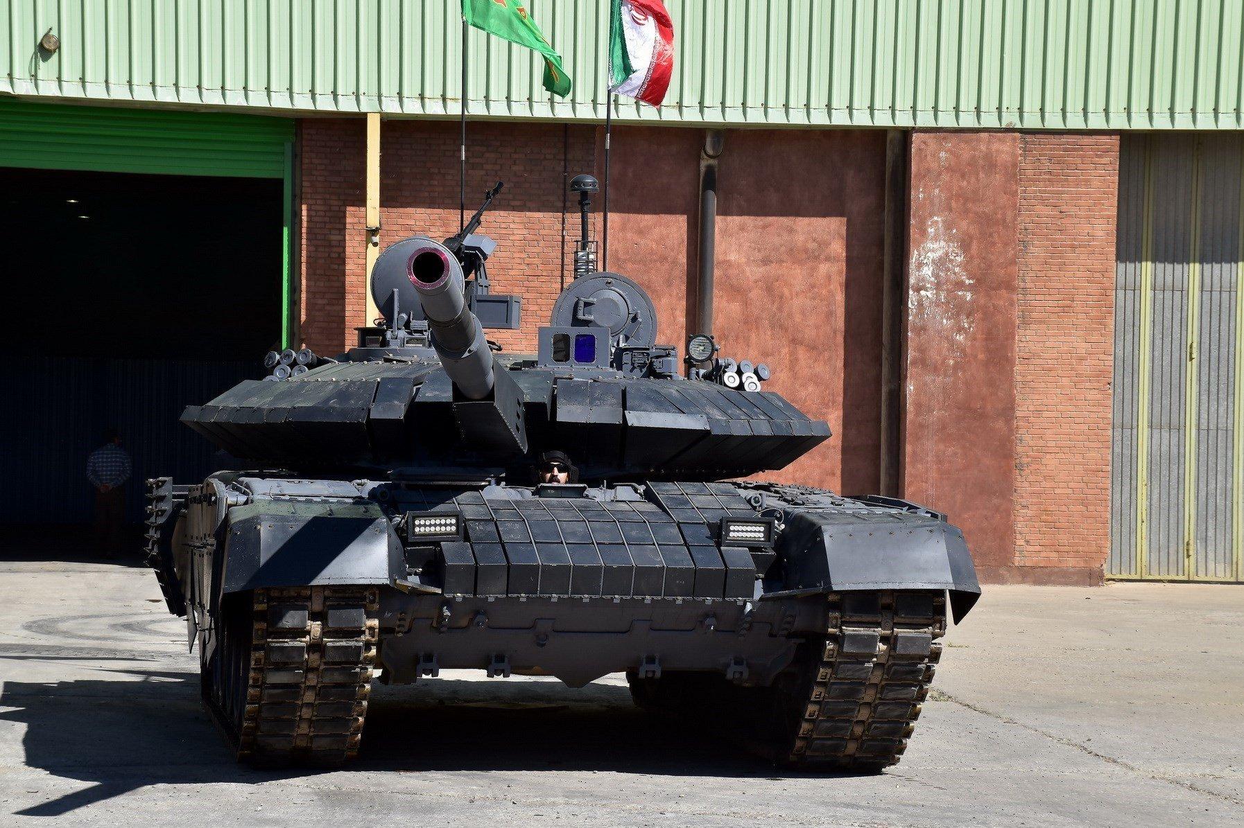 Íránský tank Karrar