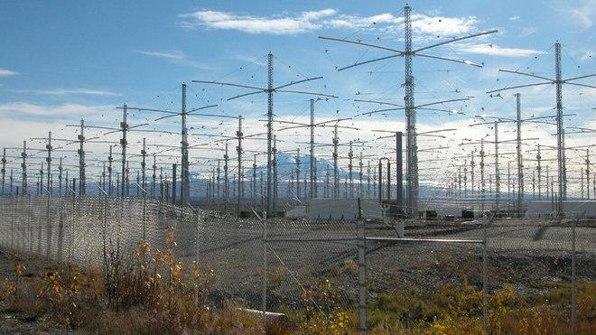 HAARP neboli High Frequency Active Auroral Research Program je výzkumný projekt chování ionosféry