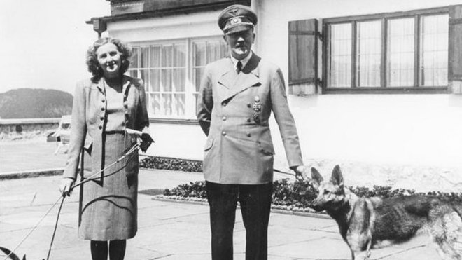 Adolf Hitler a Eva Braunová