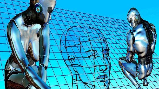 Roboti, ilustrační foto